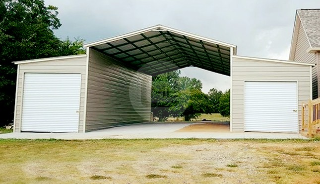 48×45 Steel Barn