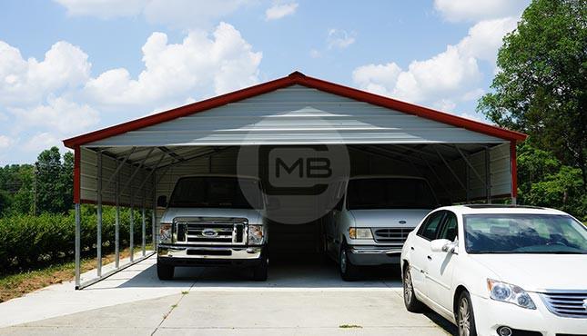 24×26 Metal Carport