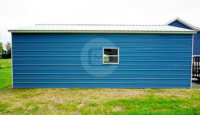 24×31 Metal Garage
