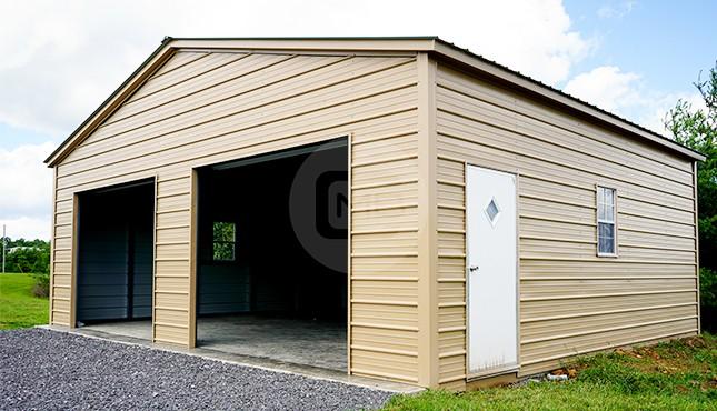 30×25 Metal Garage