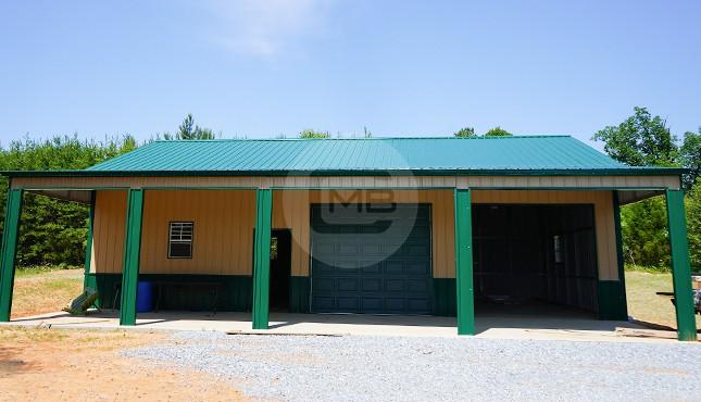 42×46 Steel Garage