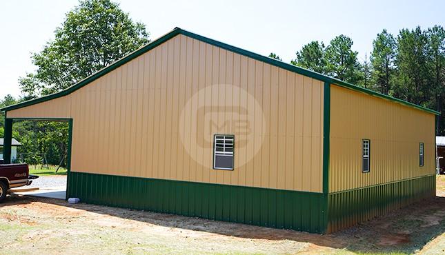 42x46 Steel Garage
