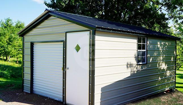 12×19 Steel Garage