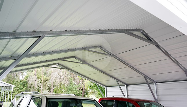 20×21 A-Frame Steel Carport
