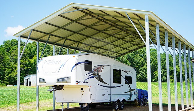 Metal Rv Carports Rv Covers For Sale At Best Prices