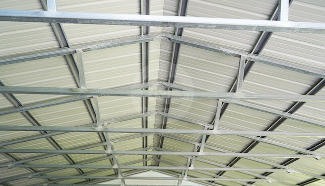 30×26 Vertical Roof Carport