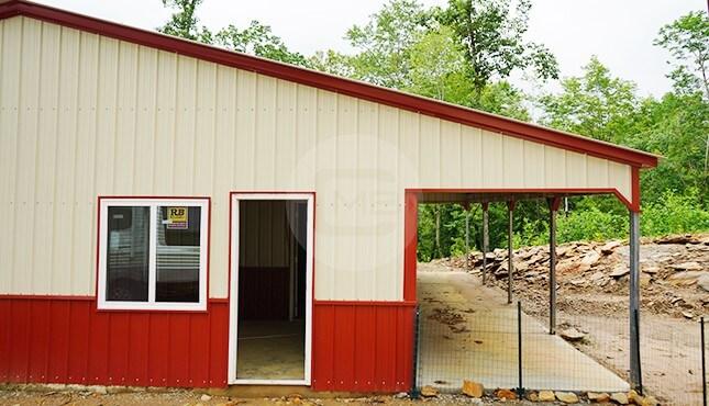 30x56 Garage Building