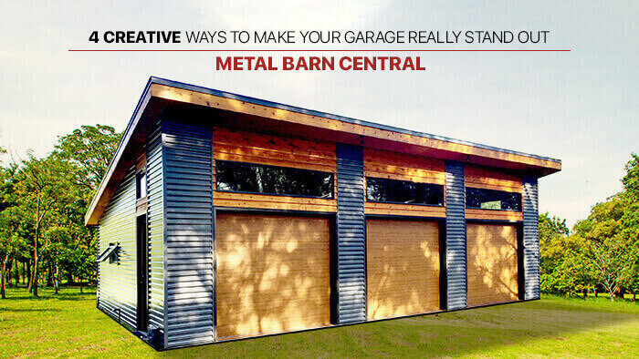 4 Creative Ways to Make Your Garage Really Stand Out