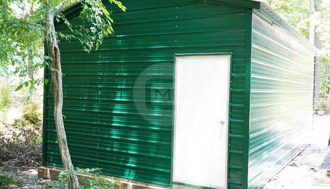 14×25 Metal Garage