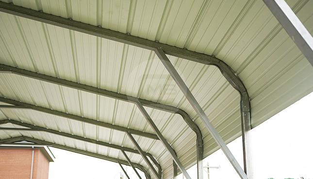 18×26 Regular Roof Steel Carport