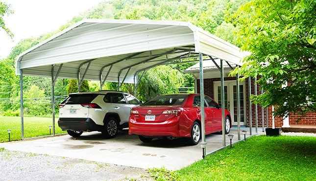 22×21 Regular Roof Carport
