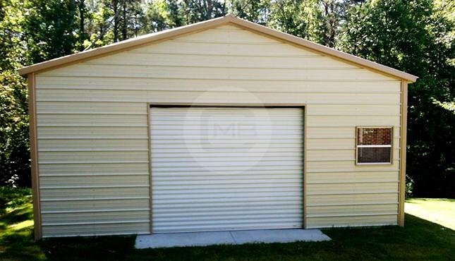 24×26 Steel Garage