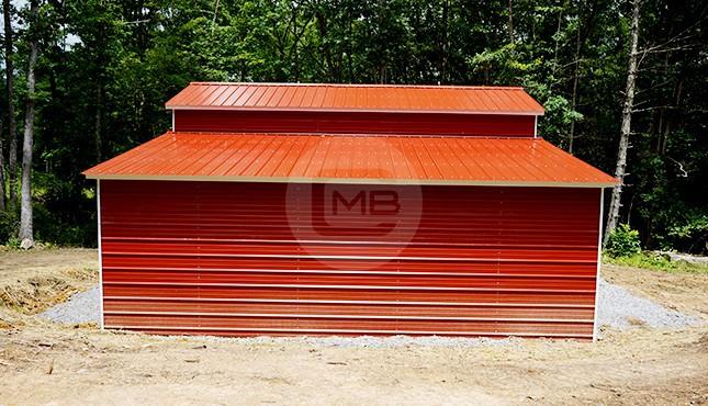 36×25 Drop-Down Steel Barn