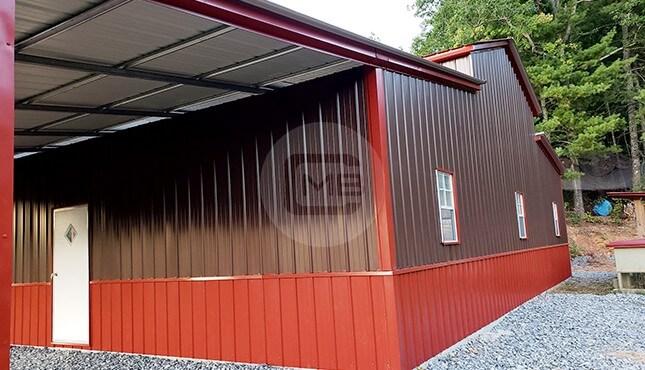 54×36 Drop-Down Barn