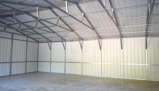 28×41 Side Entry Metal Garage