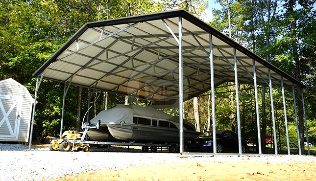 30×36 Vertical Roof Carport