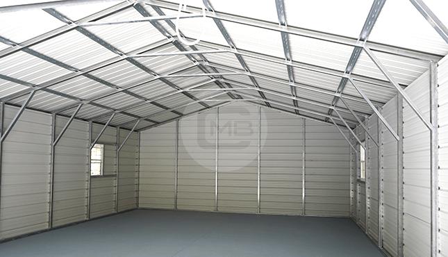 36×36 Lean-to Garage Building