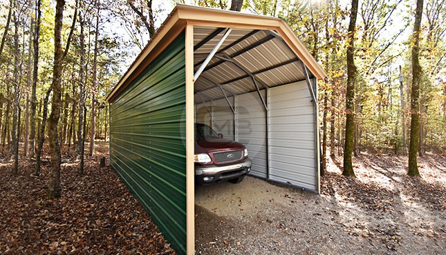 12x26 Metal Boat Carport