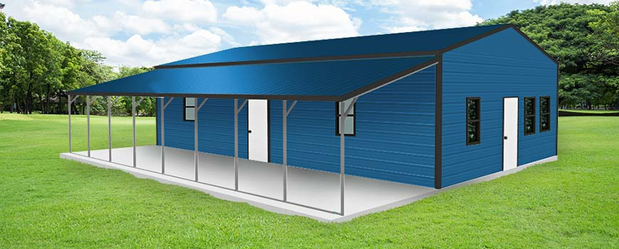 Metal Buildings with Living Quarters4